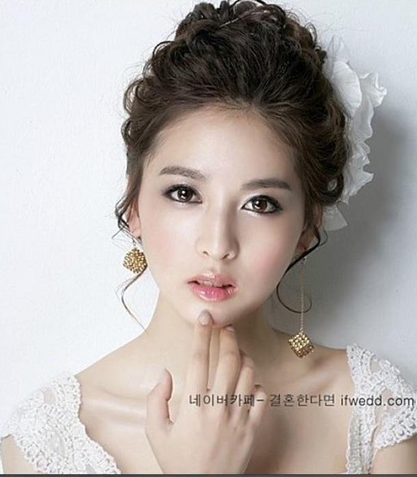 Bridal Hairstyle Korean Gallery For Gt Wedding Hairstyles