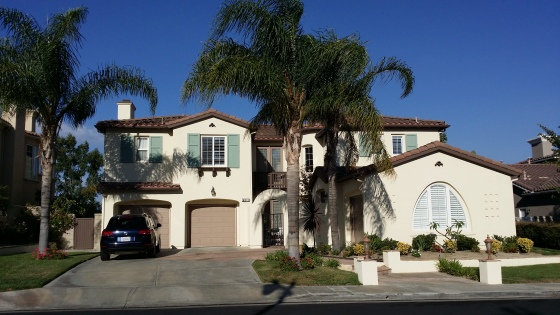 My parents home in Cali!